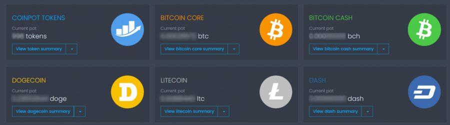 coinpot wallet bitcoin