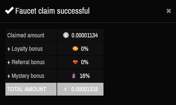 faucet litecoin bitcoin